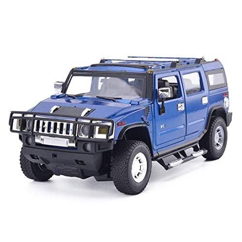 Llpeng Model Car 01.24 Hummer H2 Sport-Auto-Legierung Automodell zieht Auto-Limousine Boy-Auto-Modell-Sammlung Ornamente Geburtstags-Geschenk-Sammlung Home Decoration