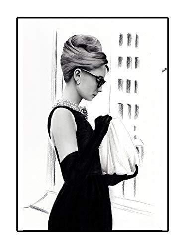 4Good Epictures Audrey Hepburn Poster A3 und A4 Breakfast at Tiffany´s Bild Bilder Set Wohnzimmer Schlafzimmer WBE2-A4