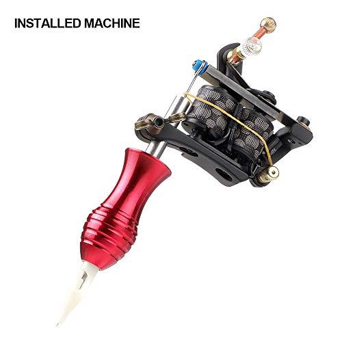 Solong Tattoo Kit for Beginners Tattoo Gun Kit 2 Pro Coil Machine Tattoo Machine Kit Complete Tattoo Kit 6 Inks TK268