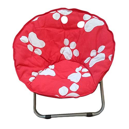 Meet World Camping-Stuhl Mond Runde Saucer Stuhl Folding Padded Beweglicher Im Freien Stuhl Für Erwachsene, Ideal Für Camping Im Freien