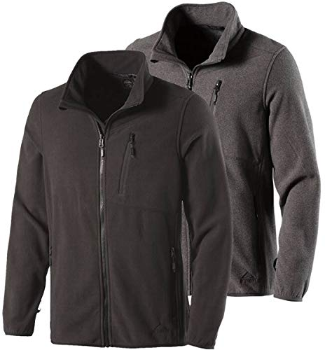 McKINLEY Herren White Mountain Fleece-Jacke, grau, 4XL