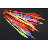 Tigofly 10 piezas de 10 colores de silicona Faldas SpinnerBait Buzzbait Calamar Calamar de goma Jig señuelos para hacer Streamer pesca con mosca materiales de atado