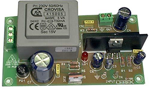 CEBEK – fase vermogen 5 W 230 V 4 – 8 oh. 100 K audio-versterker ce-e102