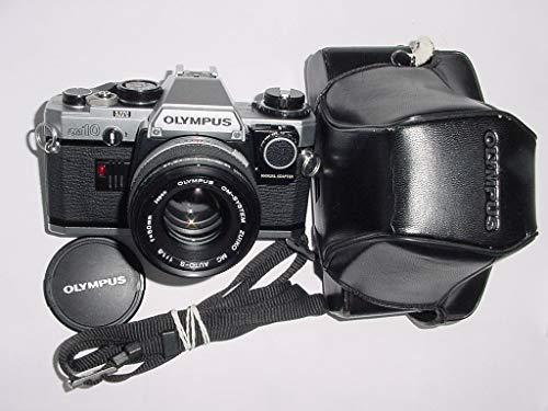 Cámara de vídeo analógica Olympus OM10 SLR de 35 mm y lente Olympus 50 mm F/1.8