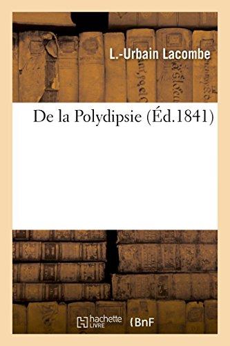 de la Polydipsie (Sciences)