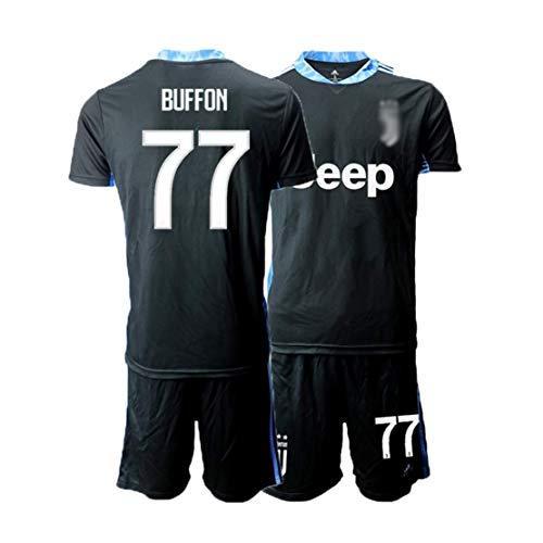 TT377 2020 Buffon Fußballtrikots, Für Erwachsene Und Kinder, Atmungsaktiv Und Schweißabsorbierend,Modische Fußballuniformen
