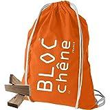 BLOC Rovere – Borsa arancione – Set di costruzione di 200 tavole per gli innamorati del legno