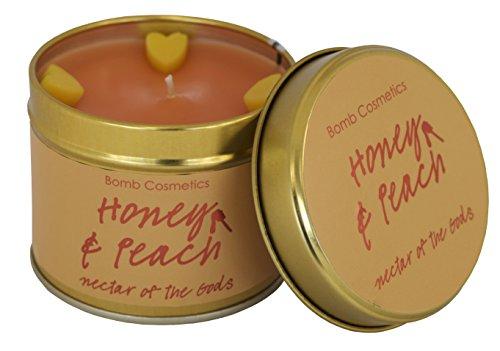 Bomb Cosmetics Duftkerze in Dose, Honey & Peach
