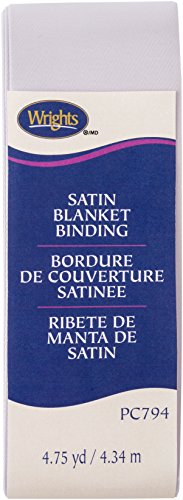 Wrights 1177941243 Single Fold Satin Blanket Binding, 2
