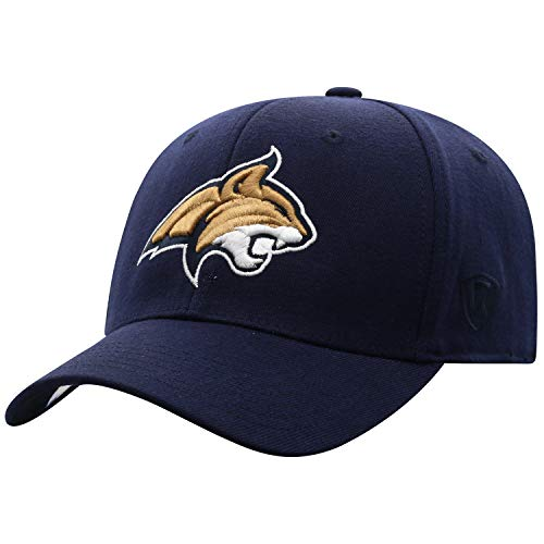 Top of the World Montana State Bobcats Mens Premium Collection One Fit Memory Fit Hat Team Color Icon One Fit