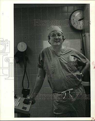 Historic Images -1986 Press Photo Dr. Russell Deter, Baylor College of Medicine Obstetrician