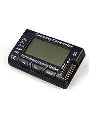 Digitale batterijcapaciteitstester, batterijcapaciteit, spanningstester, controller, tester met LCD voor Lipo Life Li-Ion Nimh batterij