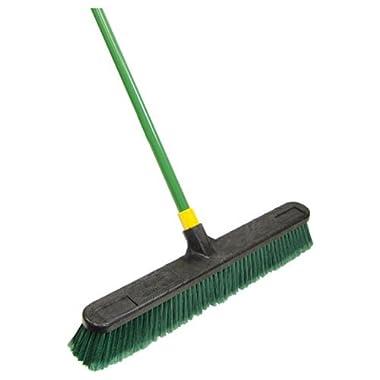 Quickie Bulldozer 24-Inch Multi-Surface Push Broom