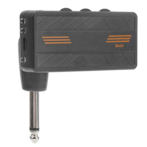 Plug-in Amp, portátil 3.3 X 3.1 X 1.1In Amplificador enchufable de guitarra...