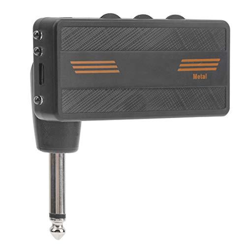 Plug-in Amp, portátil 3.3 X 3.1 X 1.1In Amplificador enchufable de guitarra para guitarrista para entusiastas de la música para actuaciones al aire libre para el hogar