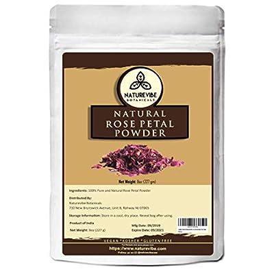 ground rose petal powder