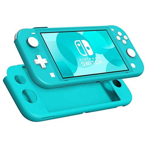 REYTID türkis Ganzkörper-Protektor-Gehäuse mit rutschfesten Griffen kompatibel mit Nintendo Switch lite