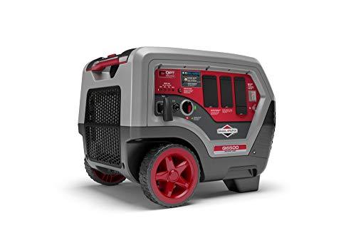 Briggs & Stratton Q6500 Quiet Power Series Inverter Generator | CO Guard, 6500 starting watts, RV Ready