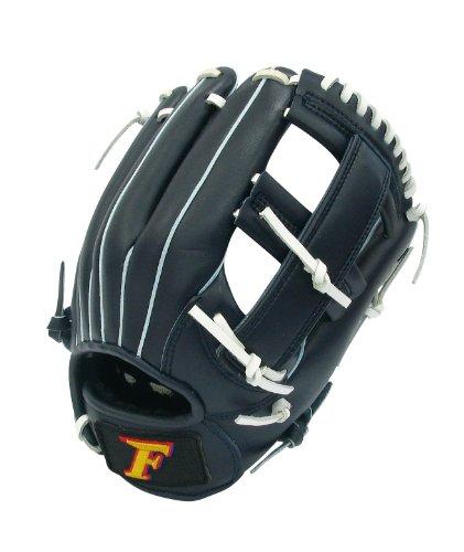 サクライ貿易SAKURAI) Falcon(ファルコン) 野球 一般軟式用 オールラウンド用 グローブ Sサイズ FG-5717 ネイビー×ホワイト