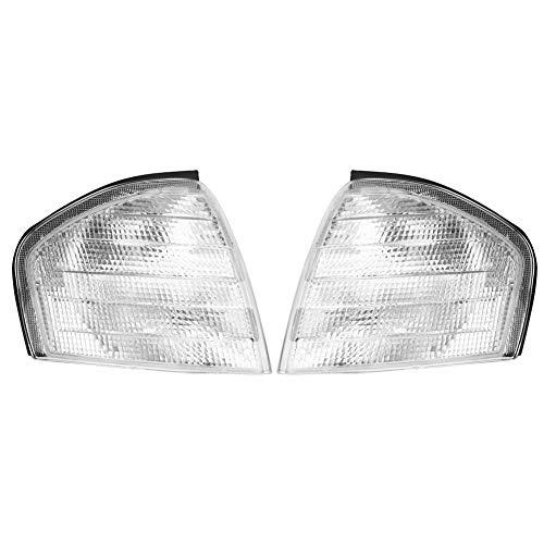 Corner Light Shell - 2 Stück Parksignal Blinker Corner Light Lamp Shell Gehäuse für Mercedes Benz C-Klasse W202