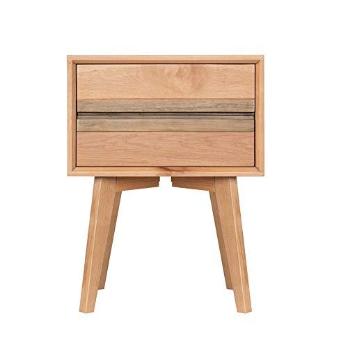XINGZHE Comodino - in legno massello di ciliegio semplice Nordic piccolo appartamento camera da letto comodino multifunzionale soggiorno armadietto laterale armadio economico protezione ambientale mob