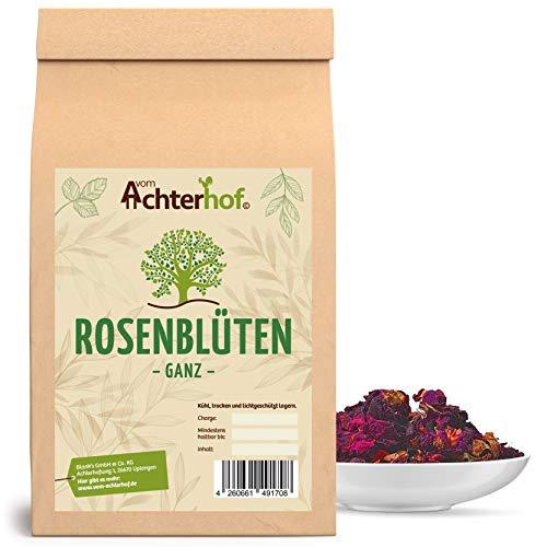 Rosenblätter rot getrocknet echt | 250g | Essbare Blüten | Rosenblüten-Tee