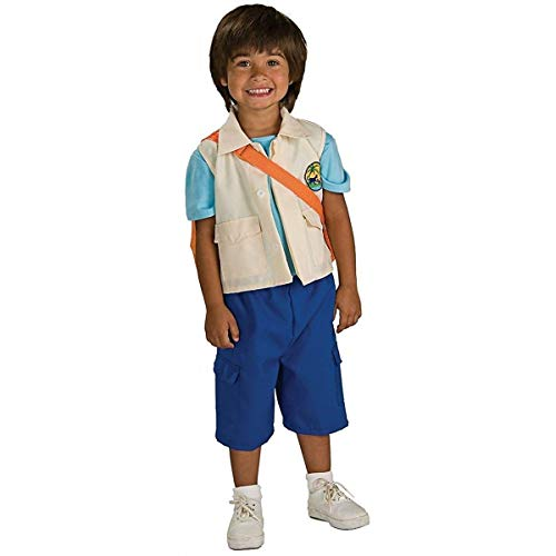 Go Diego Go - Deluxe Diego Halloween Costume - Child Size Small
