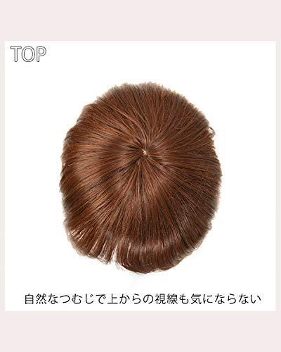 [AQUADOLL(アクアドール)]ウィッグ前髪ウィッグつむじ付き前髪ポイントウィッグフリーサイズLB.ライトブラウンwgt053LB