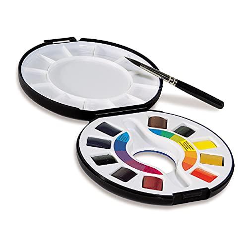 Raphael Campus Watercolor Pan Travel Set, Multicolor
