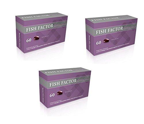 3X FISH FACTOR ARTICOLAZIONI 60 - Integratore - 180 PERLE 3 MESI DI TERAPIA