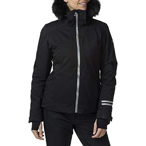 Rossignol W Ski Jkt Veste de ski pour femme L Noir