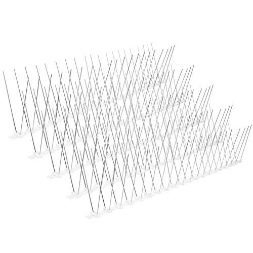 YARNOW 5 Unidades de Pinchos de Acero Inoxidable para Pájaros Pinchos de...