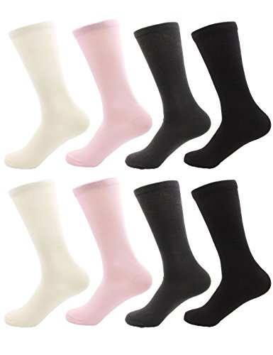 BambooMN - Women's Rayon from Bamboo Fiber Mid-Calf Socks