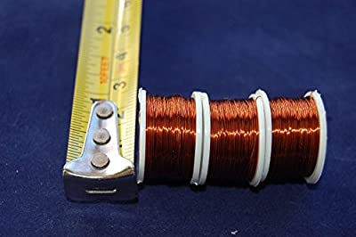 3 x Spool of Copper Wire 0.21mm Thick, FLY TYING, FLY FISHING