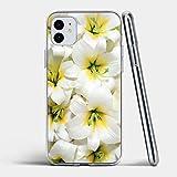 Étui Personnalisé cas de téléphone lis blanc for for for huawei Maté 9 10 20 8C 8X Lite Pro...