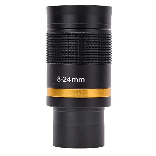 8~24 mm Teleskopokular Kontinuierlicher Zoom Ganzmetallteleskopokular mit grünem Film