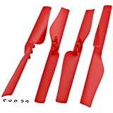 Parrot AR.Drone 2.0 4 GENUINE POWER EDITION RED PROPELLERS Motor Blade Rotor