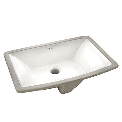 American Standard 0330000.020 Townsend Under Counter Sink, White