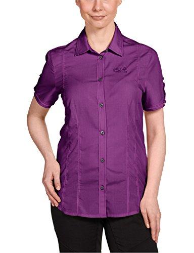 Jack Wolfskin Damen Bluse Beyond Shirt, Hyacinth, L