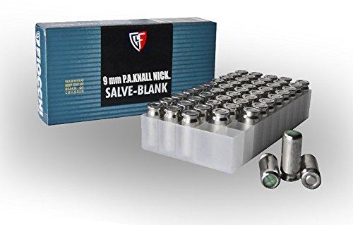 FIOCCHI Cartucce a Salve Calibro 9mm PAK (50 pezzi)