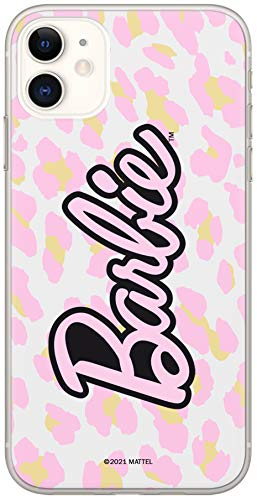 Funda Original y Oficial de Barbie para iPhone 11, Carcasa de plástico y Silicona TPU (Poliuretano termoplástico) Que Protege contra Golpes y arañazos