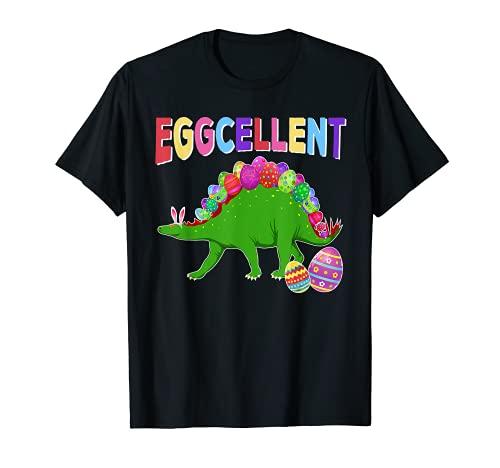 Disfraz de dinosaurio de huevo de Pascua para nios Camiseta