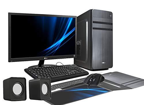 PC DESKTOP INTEL I3-7100 CORE I3 3,9 GHz WINDOWS 10 PROFESSIONAL 64 BIT CASE ATX/RAM DDR4 8 GB/HD 1TB / WIFI/HDMI DVI VGA POWER 500W + MONITOR LG 22