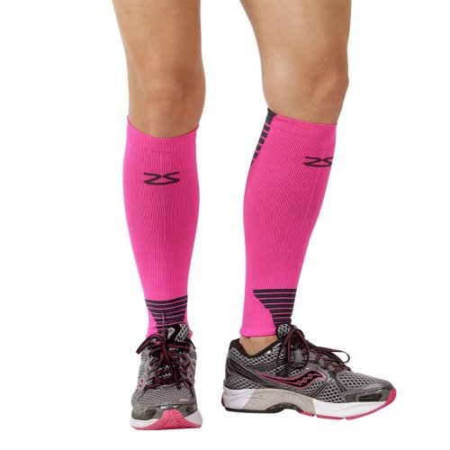 Zensah Ultra Compression Leg Sleeves – Calf Compression Sleeve for Shin Splints for Men, Women, Running, Basketball – Calf Guard Support Compression Socks