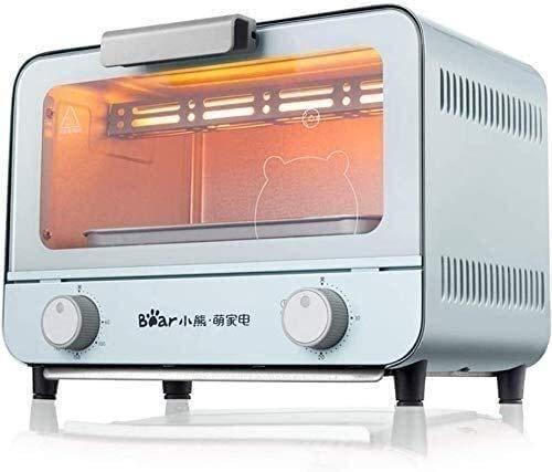 Qinmo E-Ofen, 1400W Multifunktions Frühstück Maschine, Mini Haushalt Elektro-Ofen, Kuchen-Backen-Bratpfanne Warm Trinken Topf Toaster, Zeit Temperatur Steuerbare, Fry, Braten, Kochen in One to Meet Yo