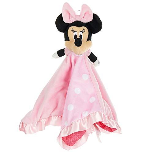 Disney Baby Minnie Mouse Plush Stuffed Animal Snuggler Blanket  Pink