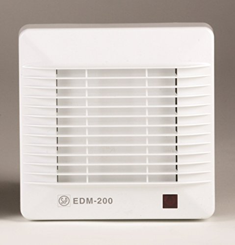 S & p edm-200 - Extractor bano/aseo edm-200cr 25w 2500rpm