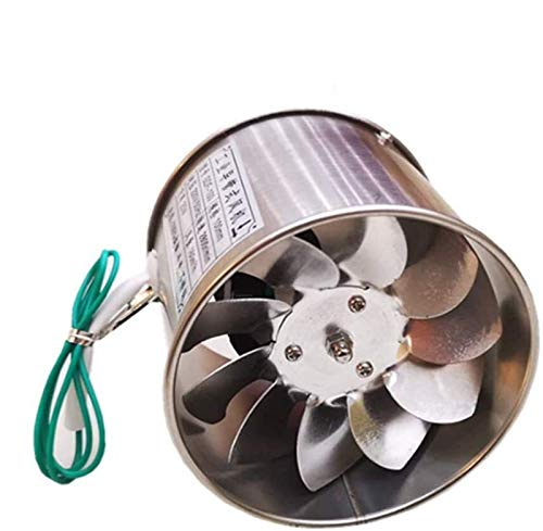SAIYI 25W silencioso Extractor de ventilación del Ventilador estándar de baño Cocina de Baja energía, cojinete de Bolas Motor en Marcha, el Volumen de Aire: 160m³ / h, 98mm * 98mm