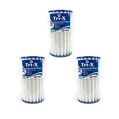 Happy Hot Tub 3 x Tri-X Filters Hotspring Hot Spring PWK30 Replacement Cartridge
