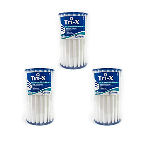 Watkins Filter Cartridge, Tri-X Ceramic, OEM Replacement Filter, Set of 3